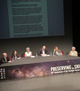 """Preserving the Skies"" closes with a call for help from the main entities related to the protection of the night sky."