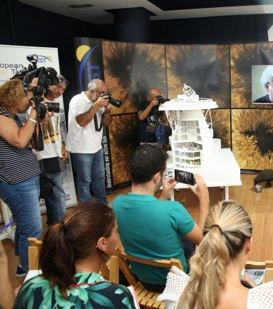 Presentation of the model of the European Solar Telescope at the Elder Museum of Las Palmas