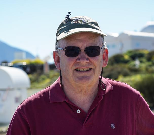 Wayne Rosing at the Teide Observatory