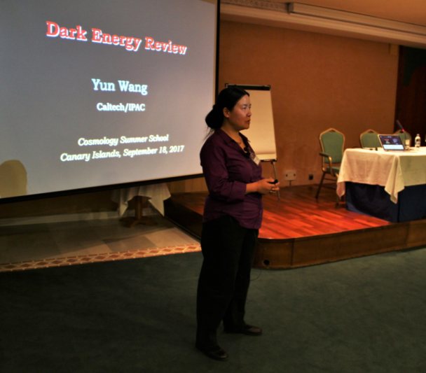 Cosmologist and poet Yun Wang