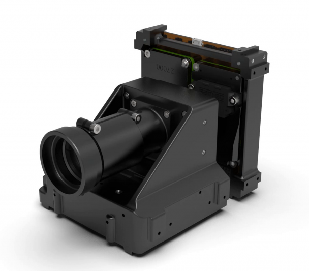 3D simulation of the DRAGO infrared camera