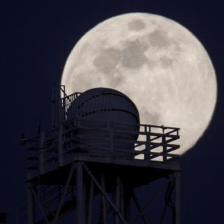 Outline of the DIMMA seeing monitor at OT with the Moon