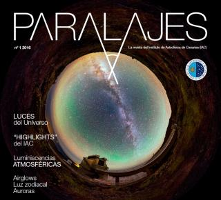 PARALAJES Cover Lights of the Universe